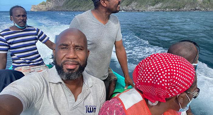 Kenton On Fishing Boat