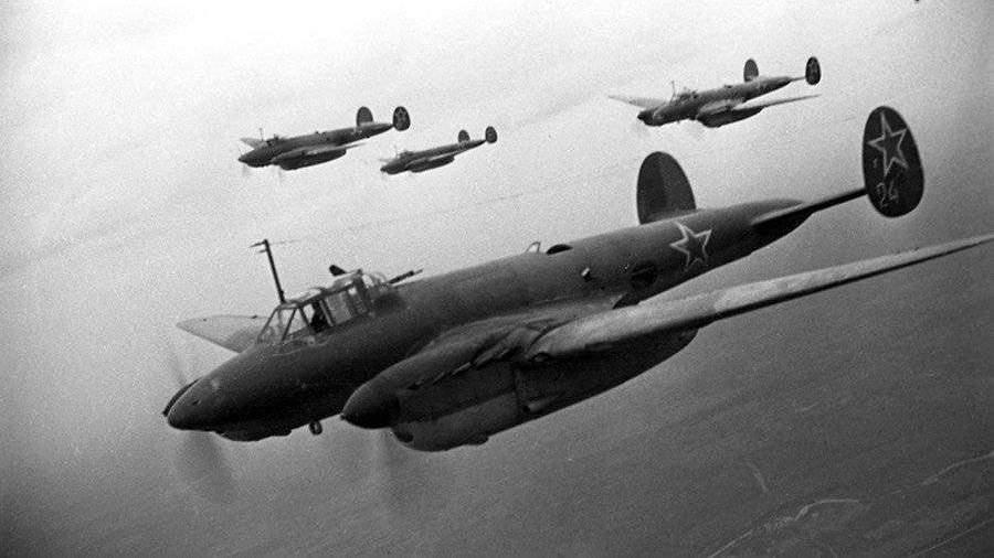 Сбитый в годы ВОВ самолет Пе-2 подняли со дна Черного моря ...