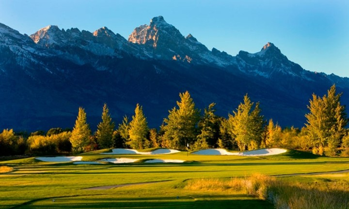 Jackson Hole Wyoming Golf Courses   AllTrips undefined