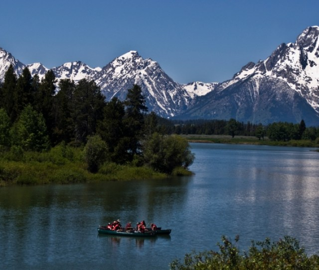 Scenic Float Trip Snake River Oxbow Bend Rafting Grand Teton National Park