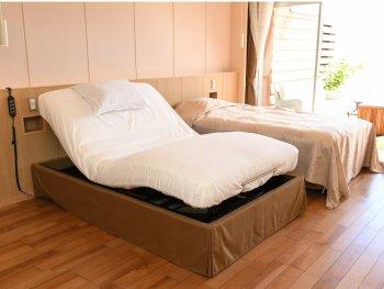 【下田大和館】専用露天風呂付き洋室の電動ベッド