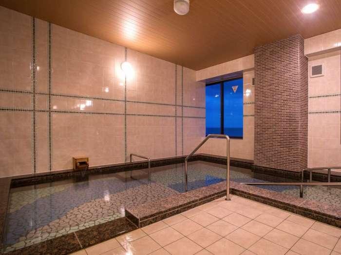 【心湯の宿SAZANA】貸切展望風呂「海のしらべ 」はユニバーサルデザイン対応