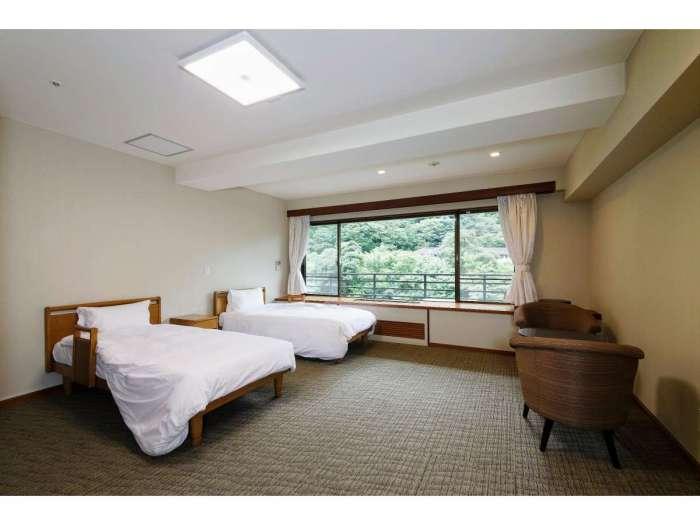 【箱根路開雲】川側洋室バリアフリールーム(312号室)