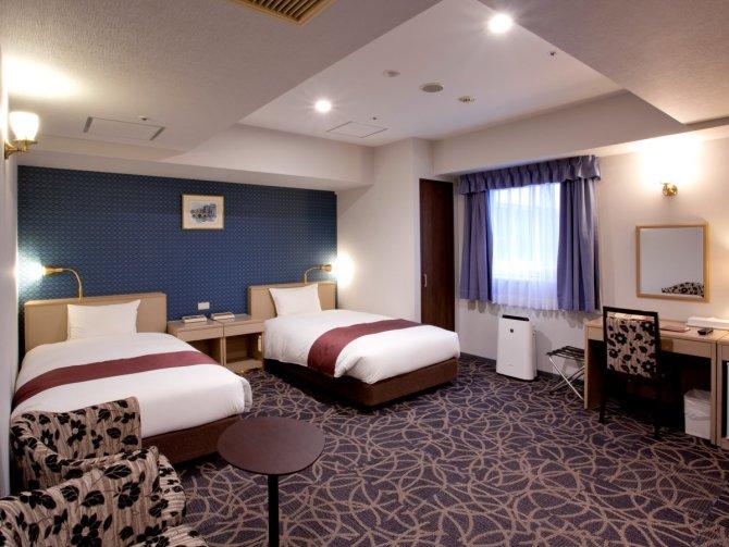八百治博多ホテルのバリアフリールーム
