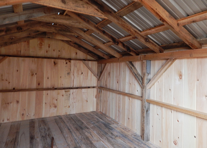 Barn Storage Shed Plans