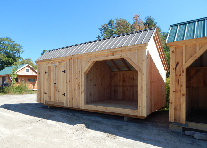 35 Cord Wood Shed And Storage Building