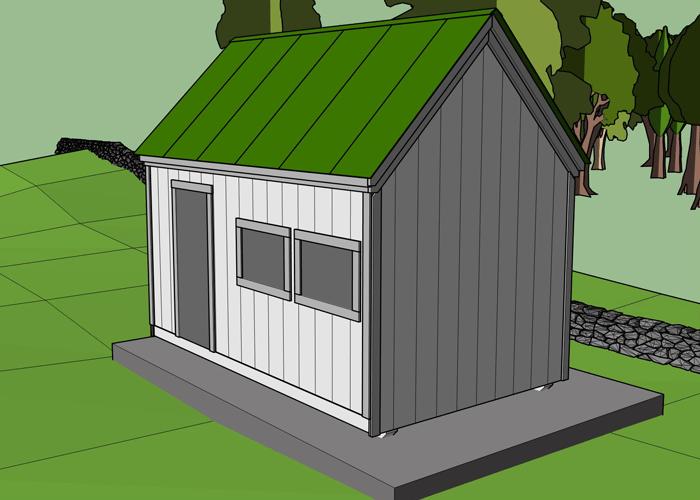 Backyard Shed Kits