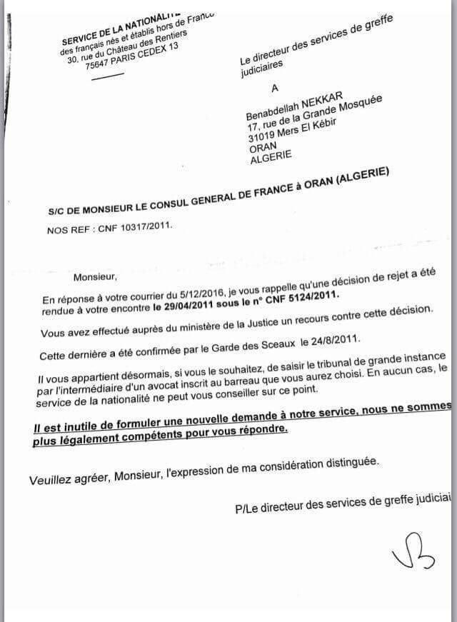 lettre de demande de nationalité française voici les documents à. votre demande certificat nationalite francaise