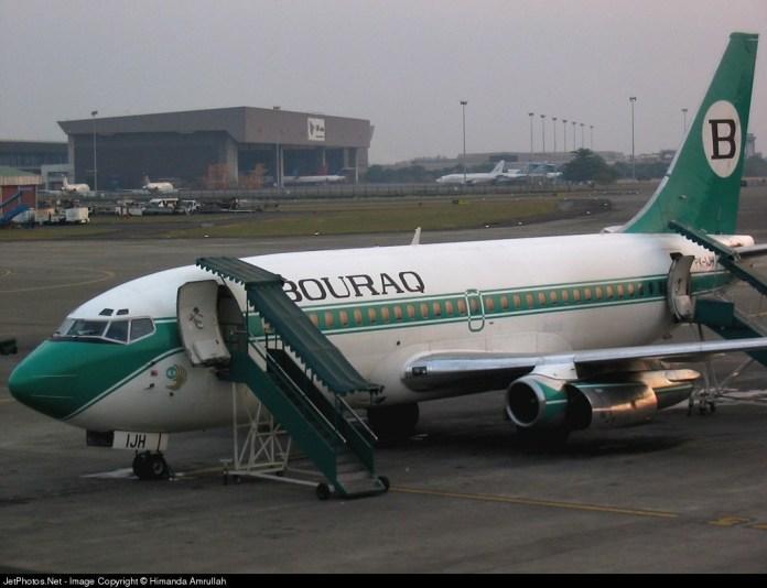 Pk Ijh Boeing 737 2k2 Adv Bouraq Indonesia Airlines Himanda Amrullah Jetphotos