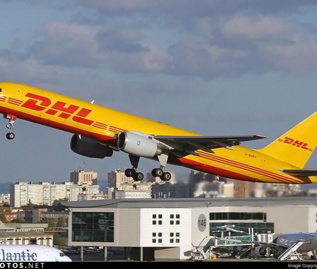 G Bmra Boeing 757 236sf Dhl Air
