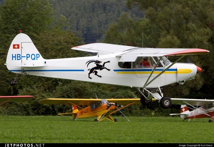 HB-PQP - Piper PA-18-150 Super Cub - Private