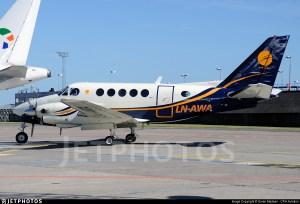 LNAWA | Beechcraft A100 King Air | Airwing | Soren Madsen