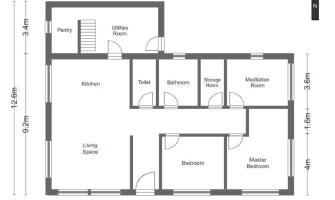 Simple Single Floor House Plans