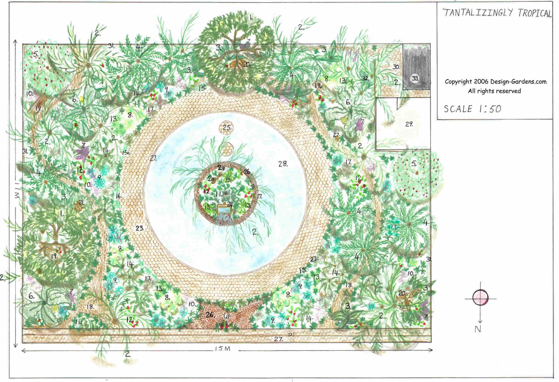Garden Designs Plans Layouts House Plans 8323