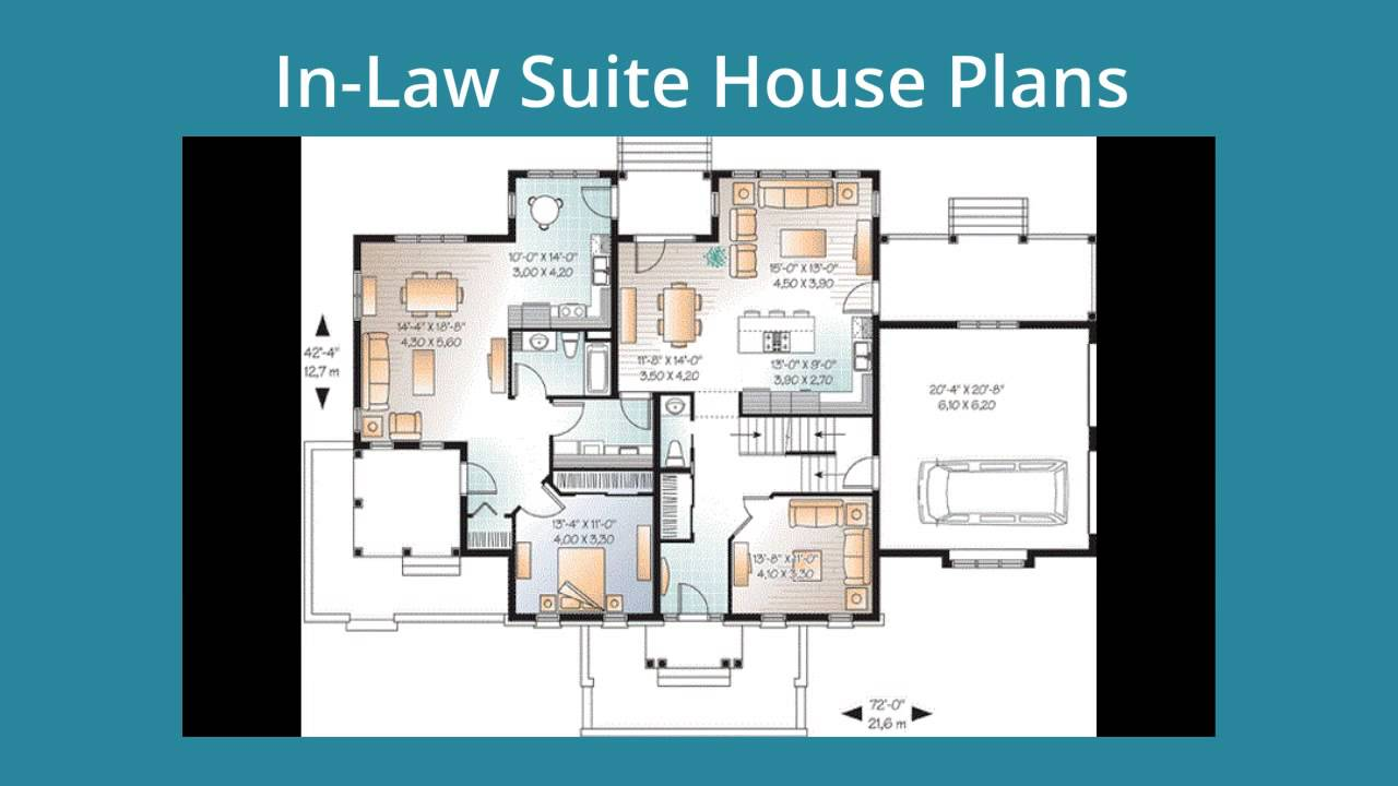 House Plans Inlaw Suite Amazing House Plans