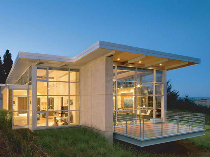 House Plans Small Contemporary Dominating Glass - House ... on Modern Glass House Design  id=99877