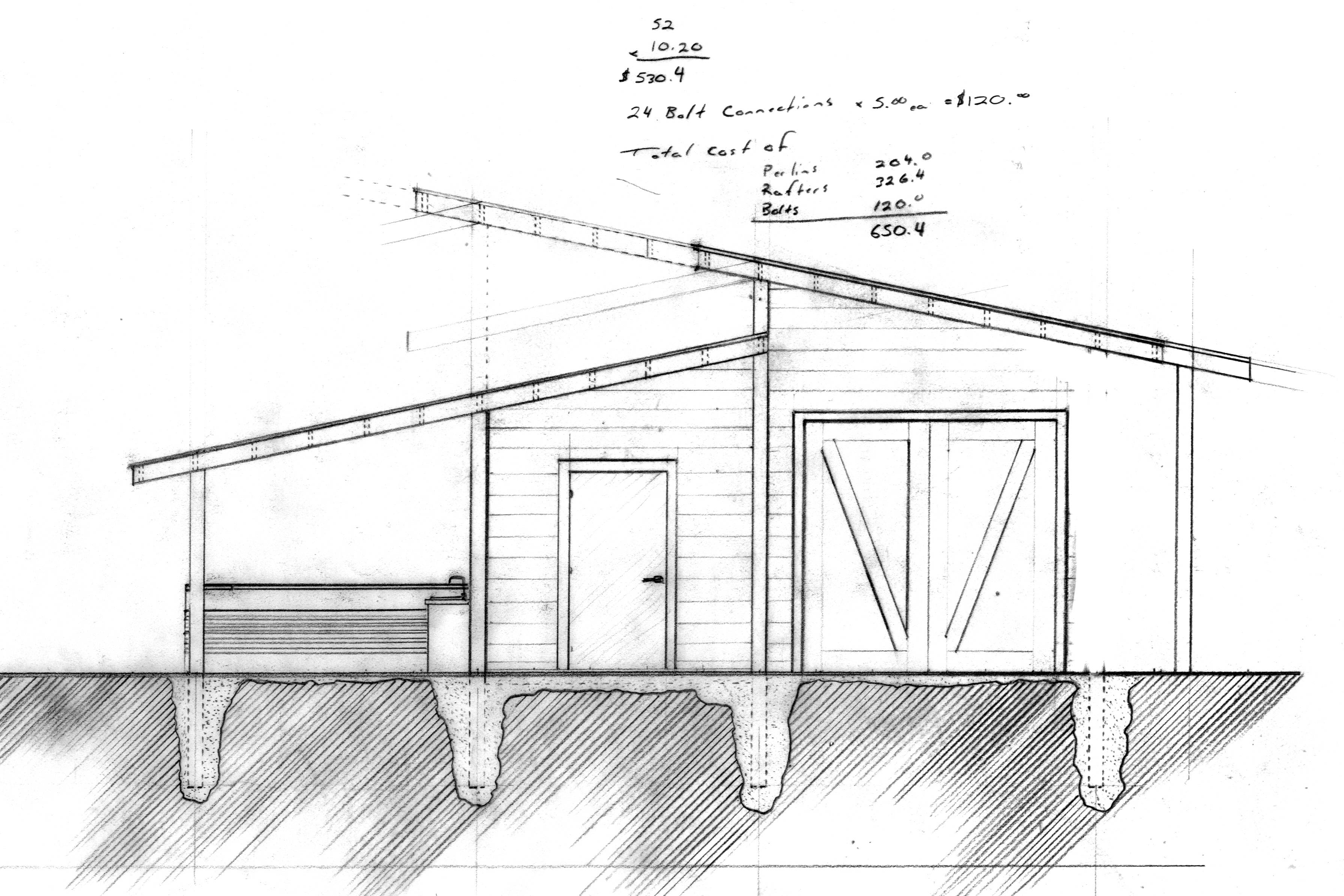Shed Roof Design Plans Amazing House Plans