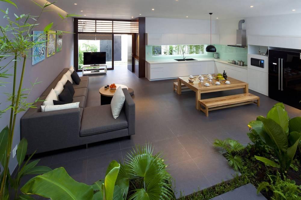 Open Plan Living Room Kitchen Diner Interior Design Ideas House Plans 88252