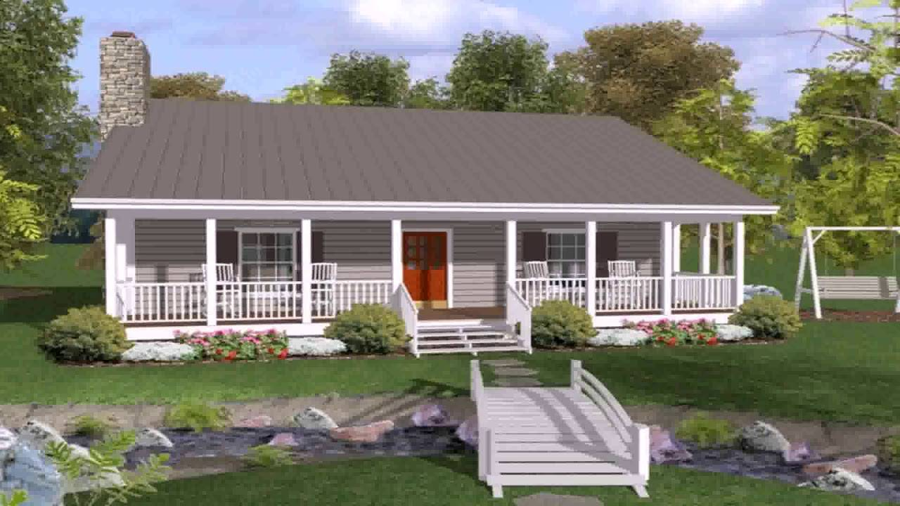 Ranch House Plans Front Back Porch Youtube - House Plans ... on Back Deck Ideas For Ranch Style Homes  id=79193