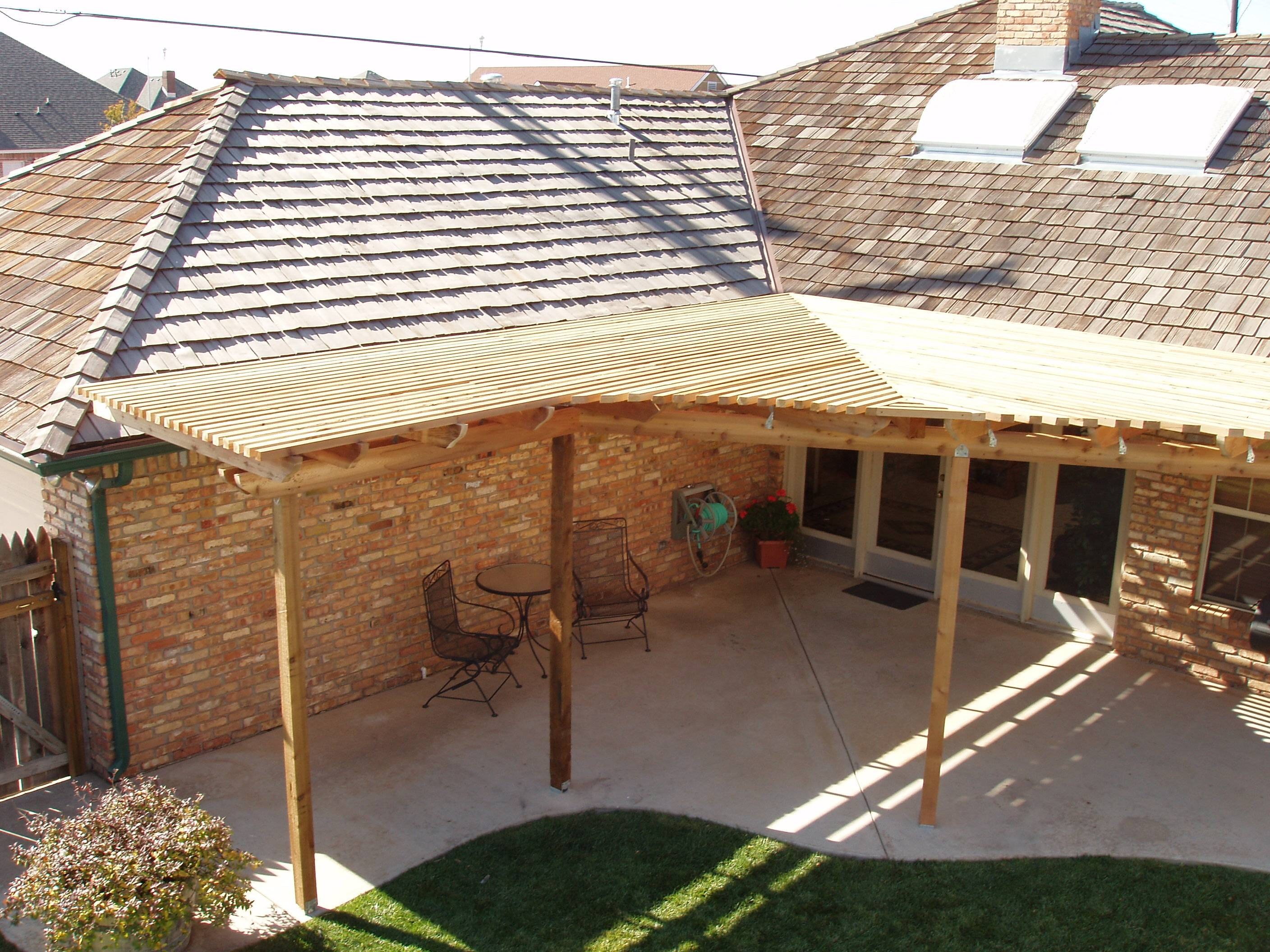 roof extension patio cover ideas