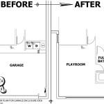 Sample Floor Plan Car Garage Conversion Bedroom Bathroom House Plans 46184