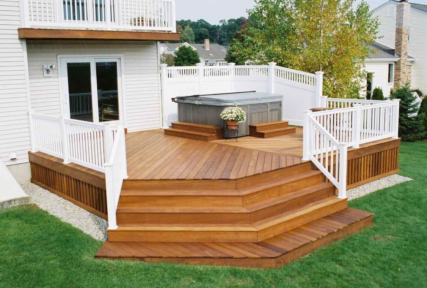 Simple Back Deck Ideas Arch Dsgn - House Plans | #172018 on Simple Back Deck Ideas id=24204
