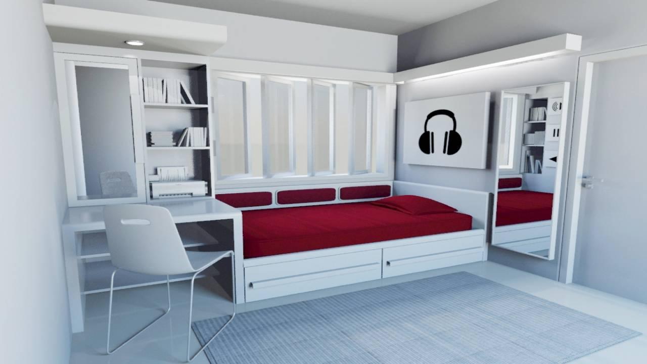single bedroom design apartment ideas