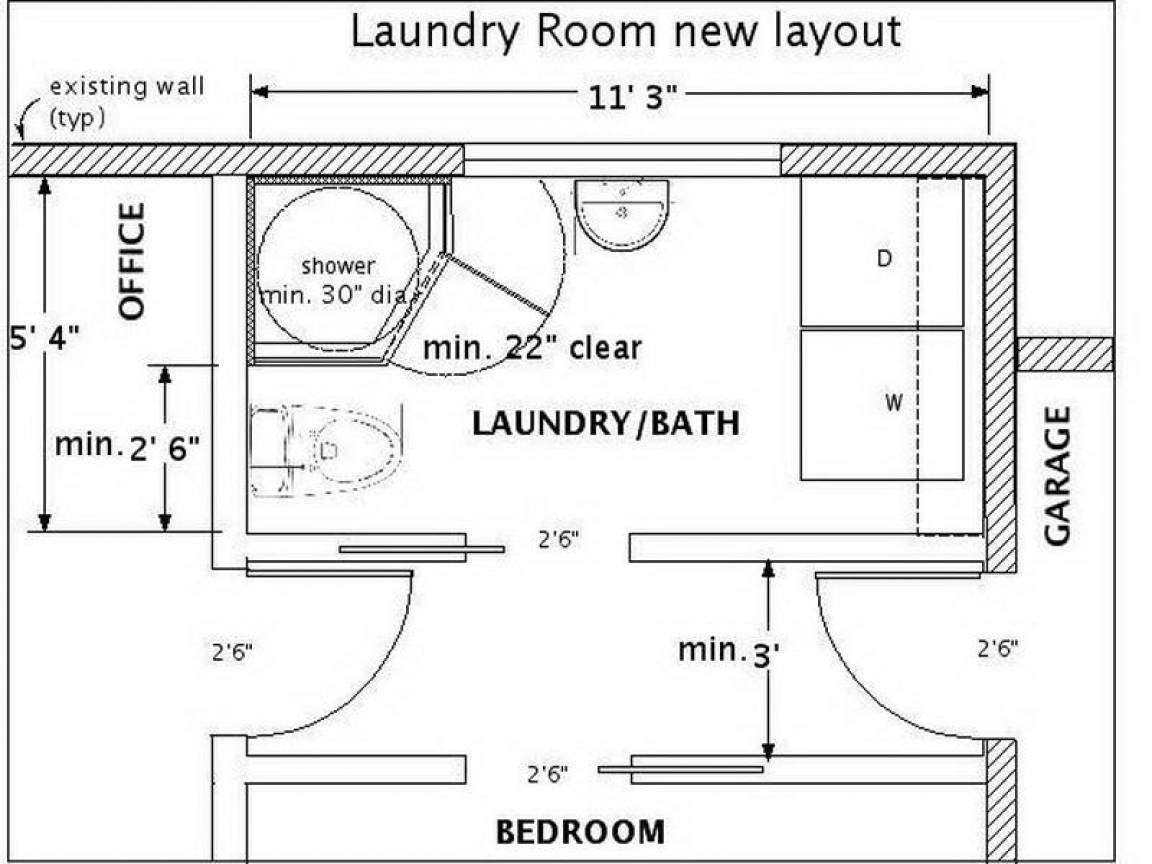 small half bath ideas bathroom laundry room house plans on small laundry room floor plans id=23938