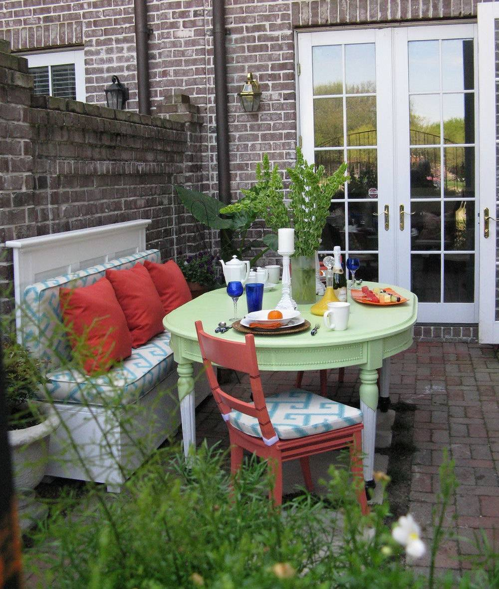 Small Townhouse Patio Decorating Ideas Home Design - House ... on Townhouse Patio Ideas  id=20551