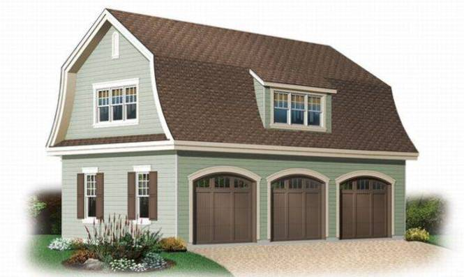 Car Garage With Apartment Above Ideas