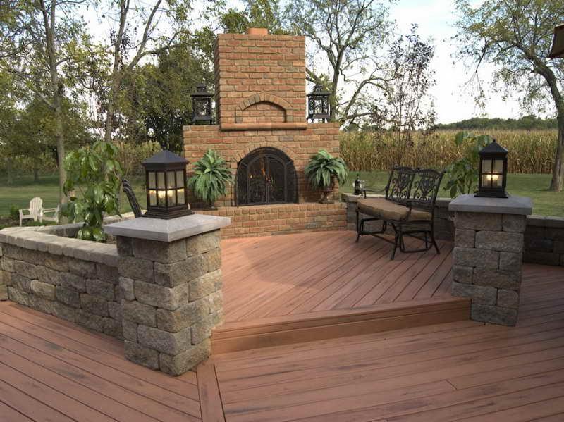 wood deck designs patio design house