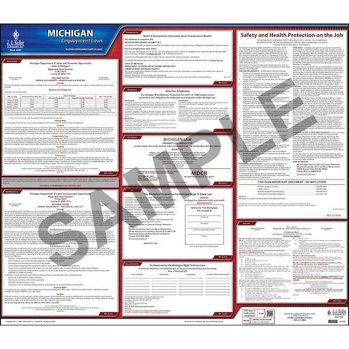 2021 michigan federal labor law posters