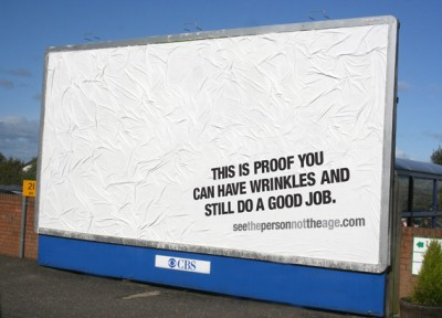see the person not the age good job creative job ad