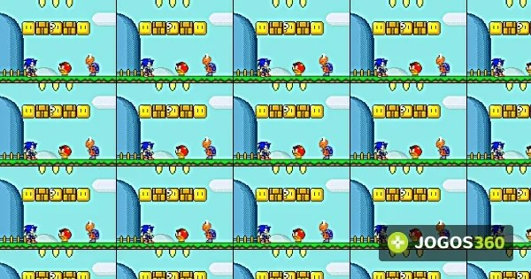 Jogo Sonic In Mario World 2 No Jogos 360
