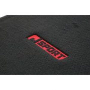black/red honda civic floor mats