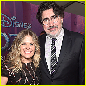 Alfred Molina Tears Up In Sweet Photos While Getting Married To 'Frozen' Director Jennifer Lee