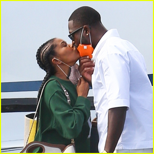 Gabrielle Union & Dwyane Wade Share a Kiss in Martha's Vineyard After Attending Barack Obama's Birthday Party
