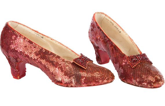Dorothy's Ruby Red Slippers from The Wizard of Oz Go to ...