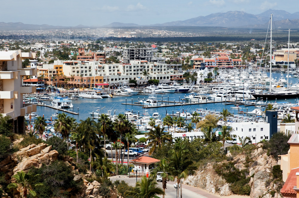 Map San Jose San Del Cabo Lucas Cabo Resorts And