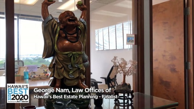 Law Offices of George Nam - Hawaii's Best 2020