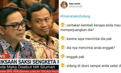 14 Drama Saksi Sidang ala Netizen Ini Bikin Gemes Bacanya