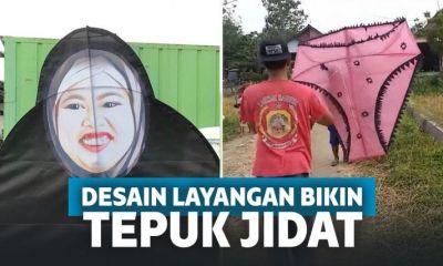 Deretan Desain Layangan Nyeleneh Ini Cuma Ada di Indonesia!