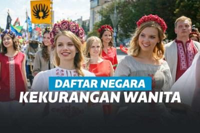 7 Negara yang Kekurangan Jumlah Wanita, Banyak Pria Jomblo | Keepo.me
