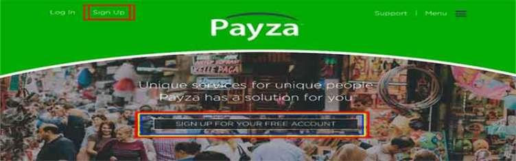 payza signup