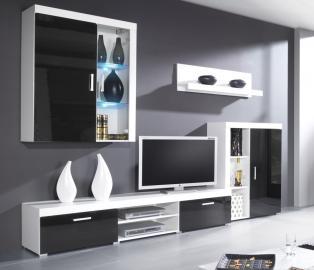 tv rack tisch board hifi fernsehtisch unterschrank schrank stander hilde i glas platingrau fs inspire