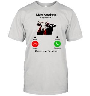 Mes Vaches mappellent faut que Jy aille shirt Classic Men's T-shirt