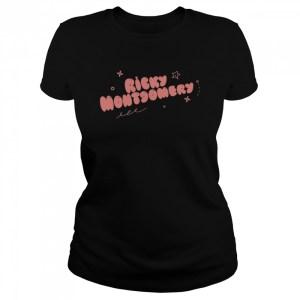 ricky montgomery  classic womens t shirt
