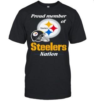 Proud Member of Pittsburgh Steelers Nation 2021 shirt Classic Men's T-shirt
