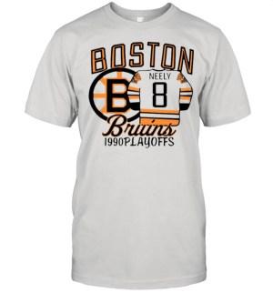The Bruins 1990 Playoffs Boston 8 Neely shirt Classic Men's T-shirt