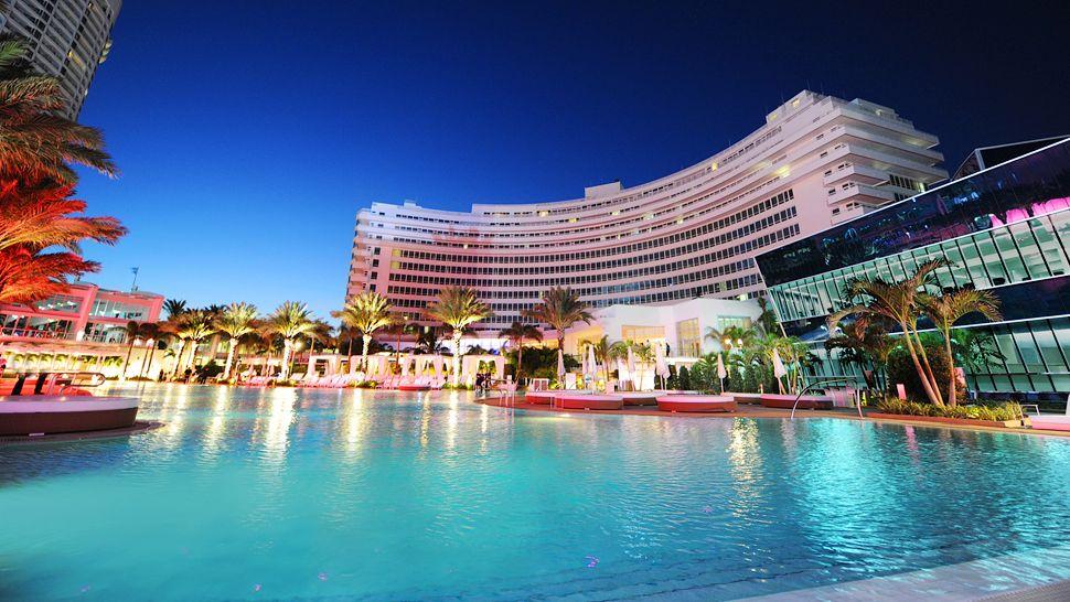 Fontainebleau Miami Beach Miami Florida